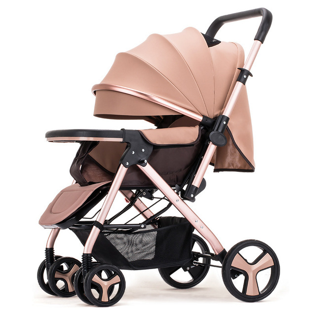 Portable Baby Stroller Sitting Lying Down High-quality Collapsible Travel Stroller Carriage Baby Wheelchair Best Gifts For Baby