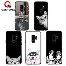 GerTong Pattern Phone Cases For Samsung Galaxy A8 Plus 2018 A5 A3 A7 J7 J5 J3 2017 2016 S9 S8 Plus Note 8 S7 S6 Edge J2 Pro Case(China)