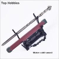 Water Cold Sword 1 6 Scale Ancient Soldier Metal Alloy Cold Weapon Annex Model Swords Blade