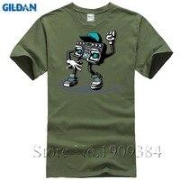 Beatbox Boombox Men S Shirt Short Sleeve New Style Popular Car Styling 3XL Cotton Crewneck Music