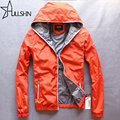Red Color Quality Winter Jacket Men Zipper Hoodies Windbreaker Mens Casual Sweatshirt Hooded Light Waterproof Jacket Hc059