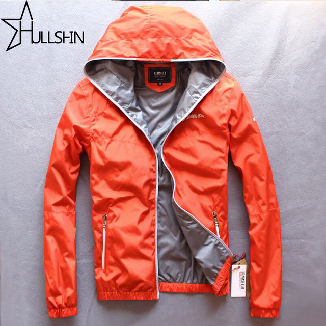 Red Color Quality Winter Jacket Men Zipper Hoodies Windbreaker ...
