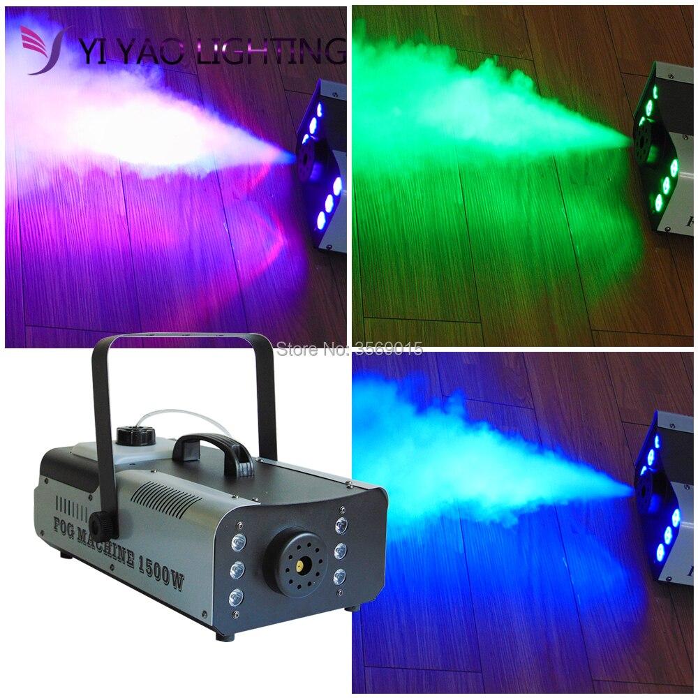 Светодиодный RGB 3in1 1500 Вт цветные беспроводной пульт дистанционного управления DJ для сцены профессиональный свет