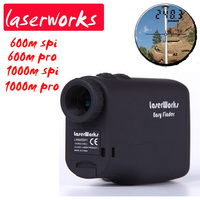 Hot Free Shipping Waterproof Handheld Laser Range Finder 1000m Infrared Rangefinder Distance Telescope Power Electronic Device