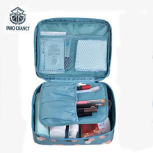 Neceser Multifunction waterproof Toiletry Make Up Organizer double-layer makeup bag Man Women travel cosmetic bag wash bag