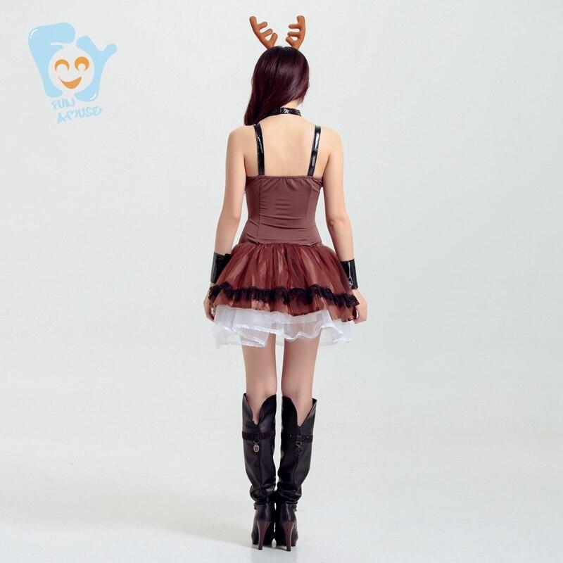 Mujeres Disfraces Sexy traje de Cosplay de Lujo Sin Tirantes de ...