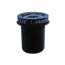F2.0 wide angle 3MP Panoramic lenses /CCTV Lens 1.44mm 180 degrees fisheye M12 mount lens