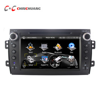 Capacitive Touch Screen Car DVD Player for Suzuki SX4 2006-2012 GPS Navigation with Radio TV BT, Mirror Link+Free 8G Map Card