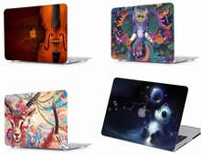 Laptop Pattern Protective Hard Shell Case Keyboard Cover Skin Pouch Fit 11 12 13 15 Apple Macbook Air Pro Retina Touch Bar HK