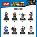 DC comics heroes villano Comando Suicida building block Deadshot Joker Killer Croc Katana Capitán Boomerang com. legoeinglys. juguetes