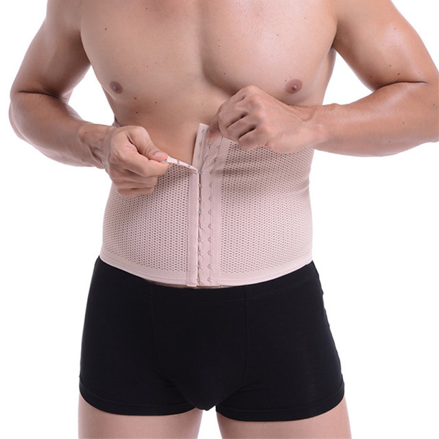 Belly Girdle PRAYGER Waist Trainer Belt Band Men Slimming Tummy Trimmer Body Shaper Control Abdominal Waist Cinchers Corset 1