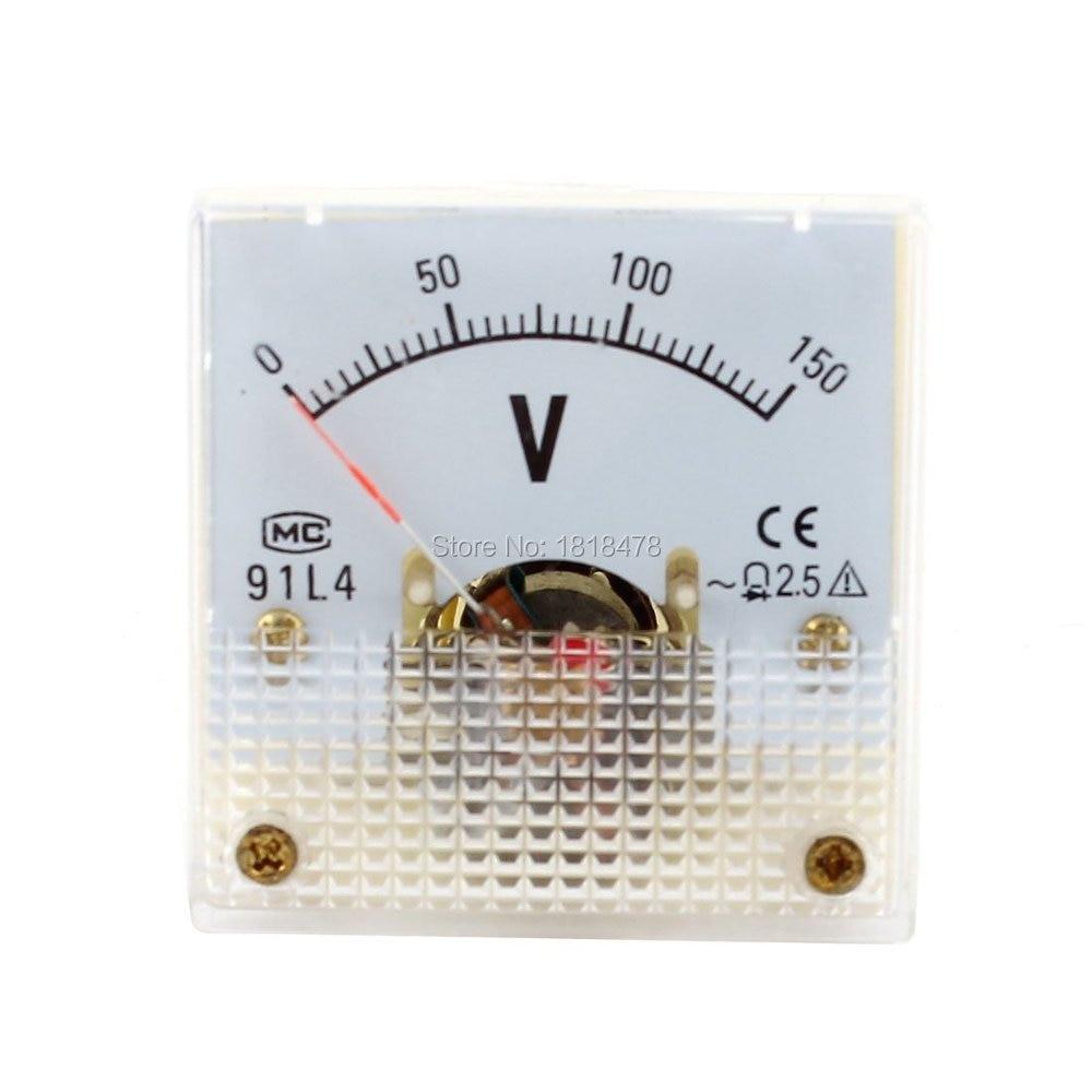 Аналоговая панель 91L4 AC 0-150V 250V 300V 450V вольтметр измеритель напряжения AC 0-150V