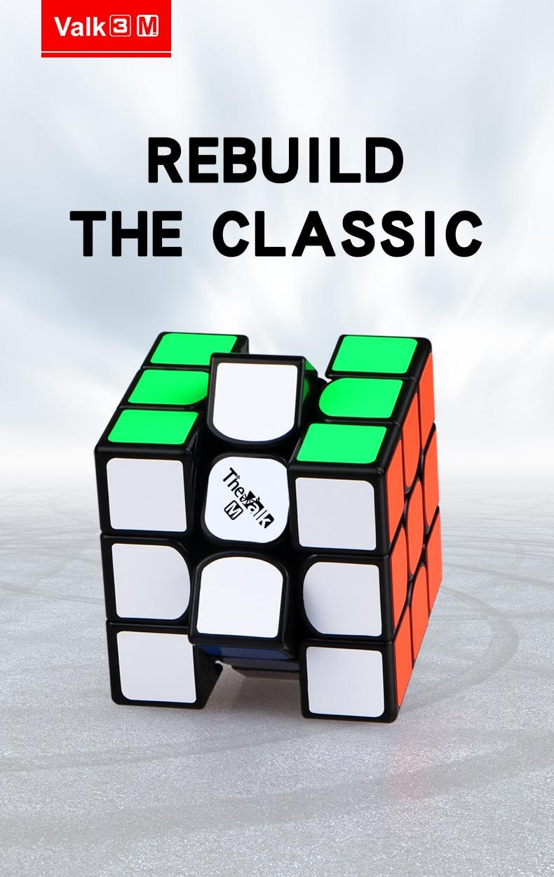 Nova qiyi valk3 m 3x3x3 cubo de