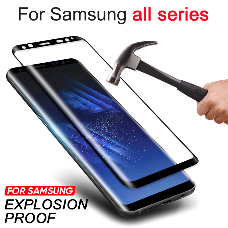 Tempered Glass for Samsung Galaxy Note 9 8 S9 S8 Plus S7 S6 Edge Protective Glas Screen Protector Safety on Not 8s 9s 7s S 9 8 7 image