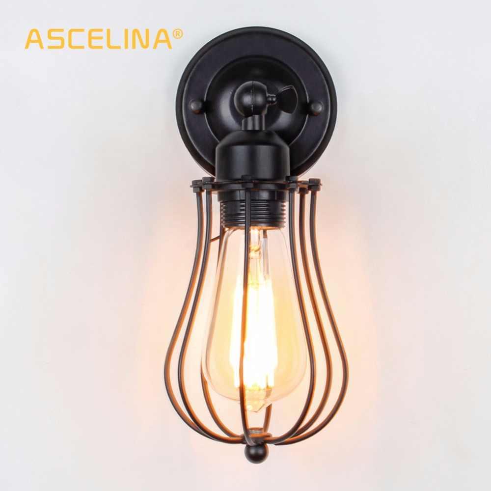 Настенные светильники промышленные винтажный настенный светильник Настенный светильник регулируемый настенный светильник лофт американский кантри бра домашние лампы