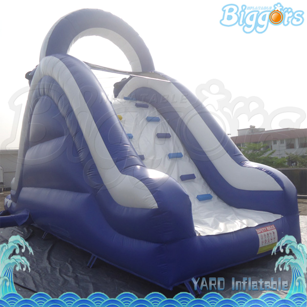 Giant Inflatable Commercial Slide With Pool Inflatable Water Slide for Amusement Game factory price giant big inflatable water slide with pool game on sale