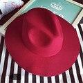 Новые широкими полями шляпа солнца мужчины джаз шапки шерсть летнее солнце пляж крышка колокол шляпы краткое стиля для женщин на открытом воздухе путешествие