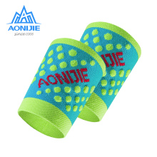 AONIJIE Elastic Nylon Wristband Sweatband Wrist Support Protector Wrap Basketball Tennis 1 Pair