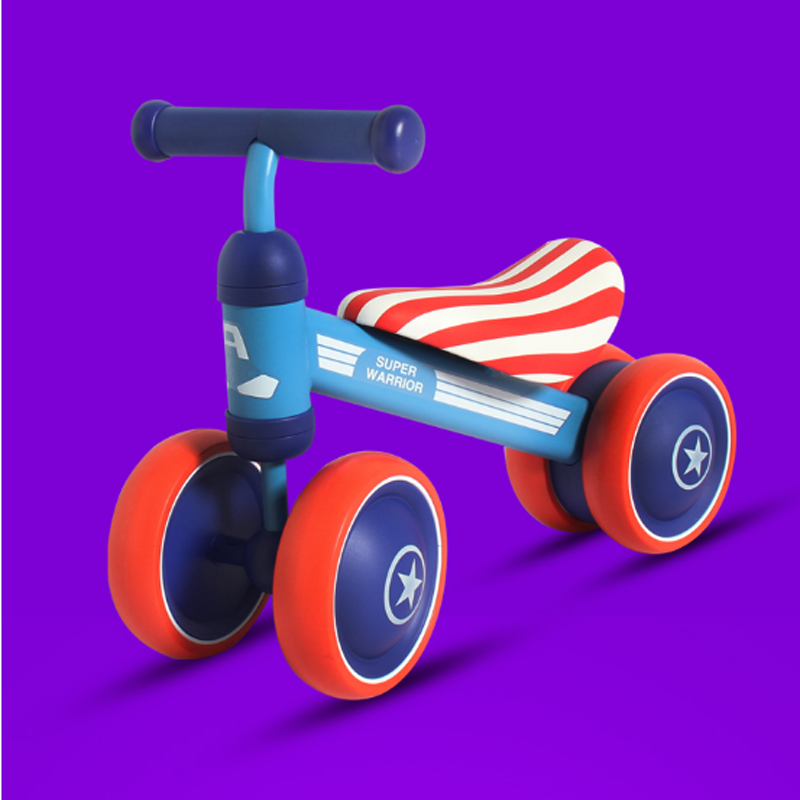 ZR 04 Four children scooter flashing wheel swing skateboard the scissor baby seat bicycle electrical car