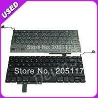 For Apple MacBook Pro 17 Unibody A1297 Spanish Layout Keyboard Black 100 Working