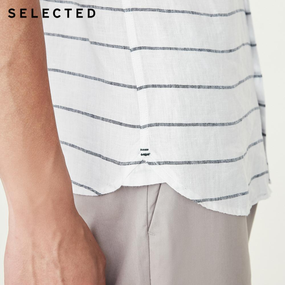 SELETED White Color Men 39 s Spring amp Summer Short sleeved Shirt 418204509 in Casual Shirts from Men 39 s Clothing