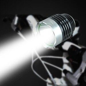 Image 1 - ไฟฉายไฟฉาย 3000 Lumen XML Q5 อินเทอร์เฟซจักรยาน LED จักรยานไฟฉาย lanterna ไฟฉาย El feneri 402A