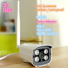 Wholesale HD Wireless Outdoor waterproof 720P HD Security Network CCTV WIFI IP camera Megapixel Digital Security IR Night Vision system