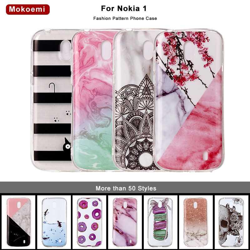 Handytaschen & -hüllen Mokoemi Mode Nette Luxus Weiche 4,5 für Nokia 1 Fall Für Nokia 1 Telefon Fall Abdeckung