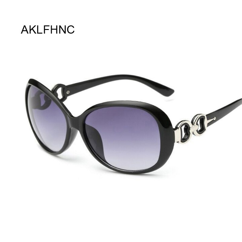 New Brand Designer Vintage Oval Sunglasses Women Retro Clear Lens Eyewear Classic Round Sun Glasses For Female Ladies Oculos