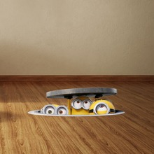 3D Minions Wall Stickers