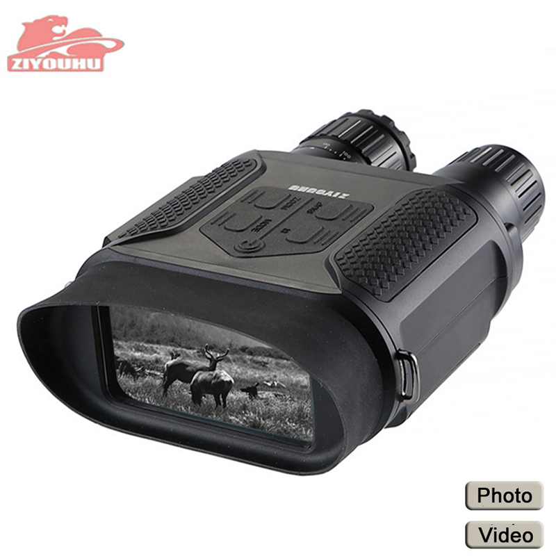 ZIYOUHU Infrared Digital Night Vision Goggles Camera Handheld Binoculars Image Video Recording Infrared Camera NV400B Widescreen gece görüş dürbünü