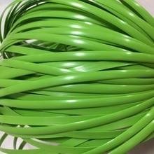 500 г зеленый плоский синтетический ротанг ткацкий материал пластик ротанг для вязания и ремонта стул стол синтетический ротанг