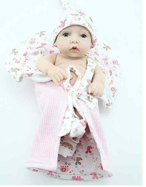 Классическая Детская игрушка, мягкие силиконовые куклы для новорожденных, одежда для маленьких девочек и мальчиков, кукла с игрушками для малышей, игрушка для раннего развития, модель куклы