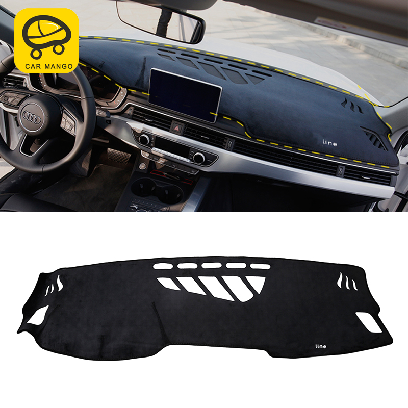 CarManGo For Audi A4 B9 2017 2018 Auto Car styling Dashboard Cover dashboard light pad covers