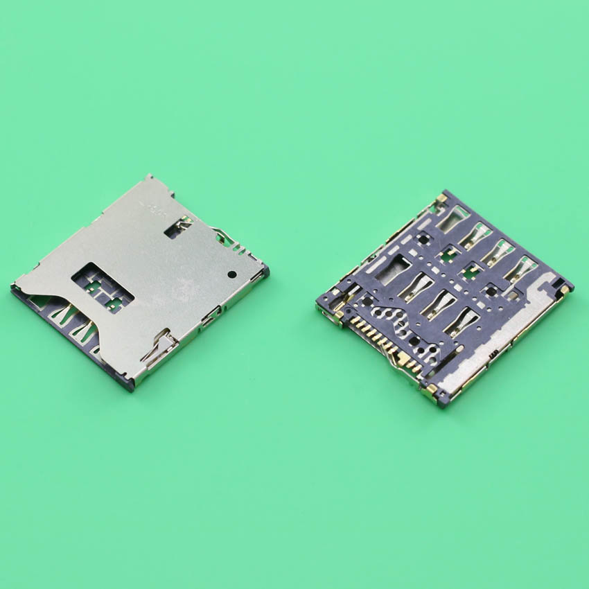 YuXi 2pcs/Lot For HTC One S Z520E G25 Sim Card Reader Holder Socket Tray Slot