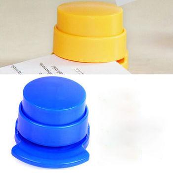 Praktyczne zszywacz zszywacz bez zszywek wiązanie do papieru spoiwo Stapless papiernicze szkolne materiały biurowe tanie i dobre opinie PHANTACI DS001 Mini zszywacz Instrukcja Z tworzywa sztucznego 5 5*5*6cm
