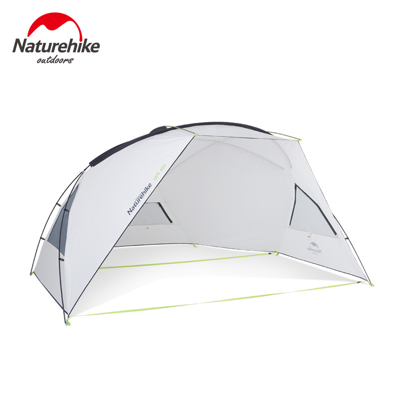Naturehike Outdoor Camping Tent Sun Shelter Awning Rainproof Anti-UV Sun Shelter Canopy Beach Tarp Sunshade UPF40+ NH18Z001-P