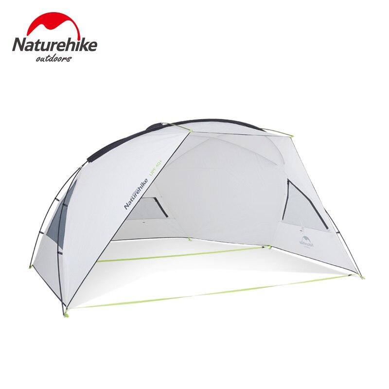 Naturetrekking tente de Camping en plein air abri de soleil auvent anti-pluie Anti-UV abri de soleil auvent plage bâche pare-soleil UPF40 + NH18Z001-P