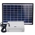 Solar energy small lighting system domestic lighting power generation system kit emergency lighting for camping boat yacht