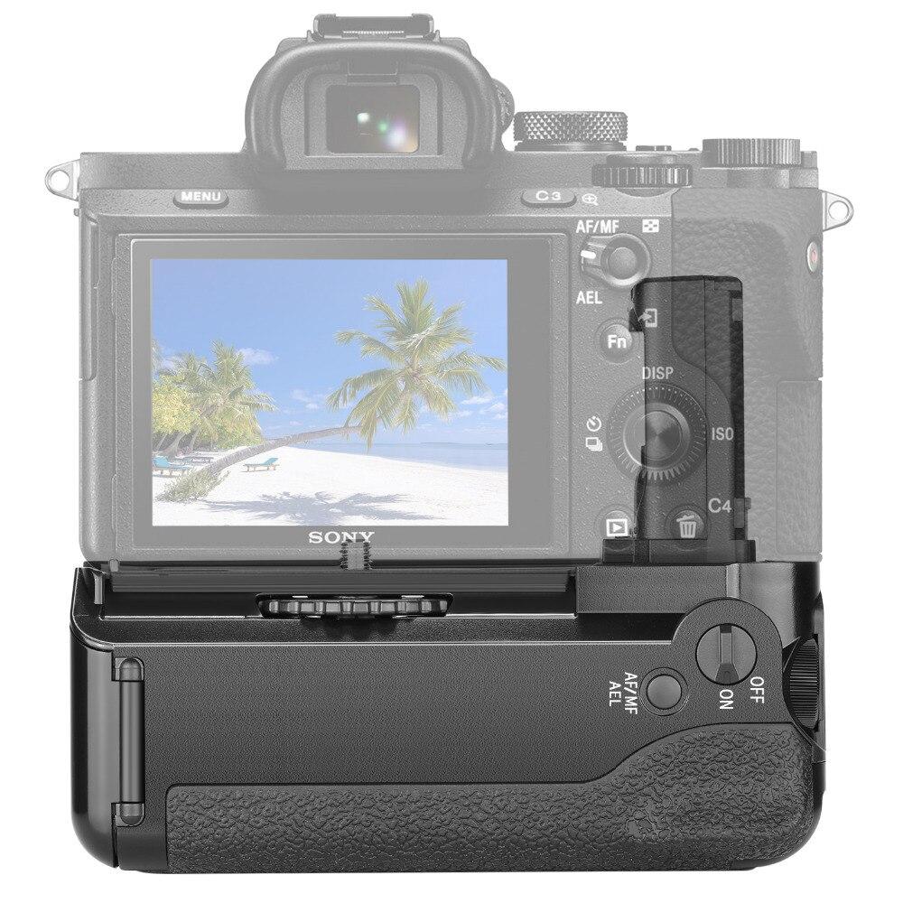 Neewer poignée de batterie verticale (remplacement pour VG-C1EM) pour Sony Alpha A7 A7R A7S DSLR appareils photo compatibles avec la batterie de NP-FW50 - 2