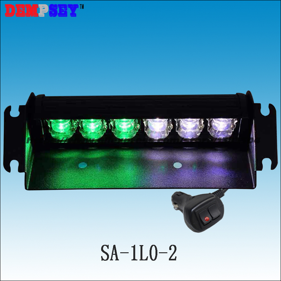 SA-1L0-2 Factory Direct Sale LED Warning Lights/Customized Green White LED Mixed Flashing Signal Lightbars/Warning Deck Lights fates warning fates warning theories of flight 2 lp