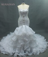 Gw120601 Luxurious Crystals Mermaid Wedding Dress Expensive Bridal Wedding Dress 2013