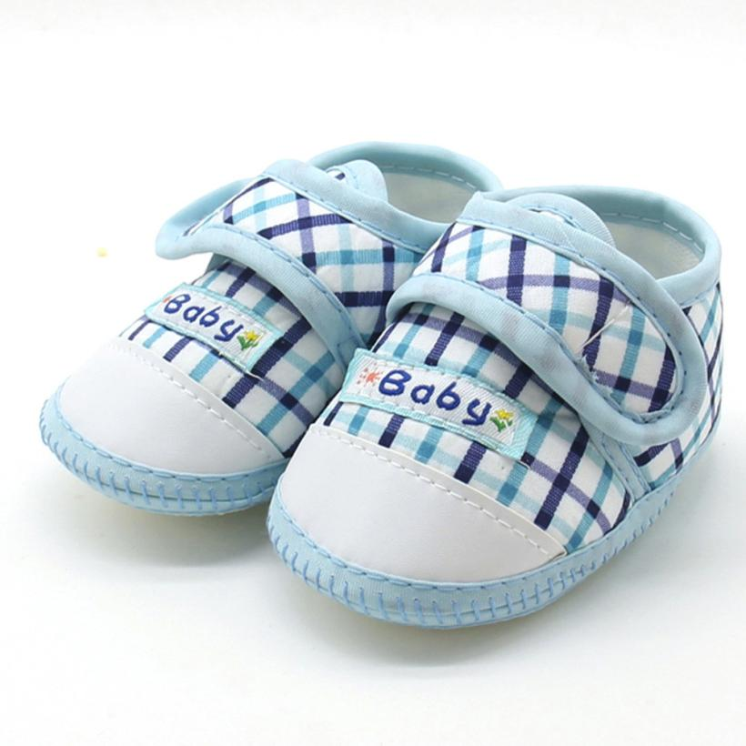 Baby shoes newborn Baby Boys Girls Soft Sole Prewalker Warm Casual Flats Shoes Cotton Fabric Suit for 3-12Month 17Nov14 0 12month baby girls