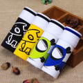 Top Quality Mens Boxer Cotton Cartoon Underwear 3D Ventilation Breathable Panties Male Plus Size M - 3XL Lovely Xmas Gift Cuecas