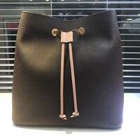 Высокое качество Натуральная кожа женские сумки модные дизайнерские бренды Женские сумки через плечо большие сумки плечо DHL
