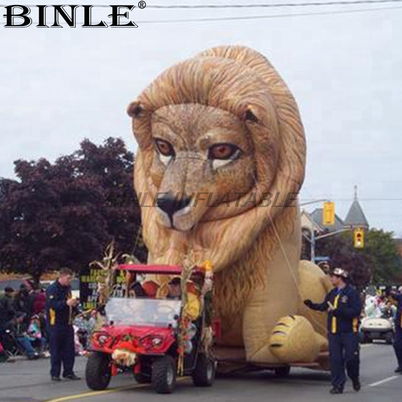 New life size parade inflatable lion model large inflatable animal balloon for advertising