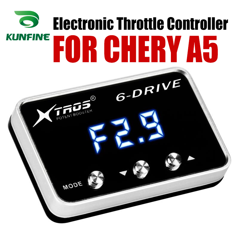 Auto Elektronische Drossel Controller Racing Gaspedal Potent Booster Für CHERY A5 Tuning Teile Zubehör