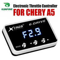 Car Electronic Throttle Controller Racing Accelerator Potent Booster For CHERY A5 Tuning Parts Accessory|Car Electronic Throttle Controller| |  -