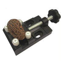 Flexsteel Super Mini Walnut Vise Clamp Table Bench Vice For Jewelry Nuclear Clip On DIY Carving