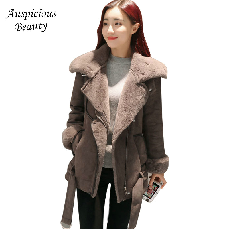 2017 New Winter Coat Women Slim Plus Size Outwear Female Medium-Long Wadded Jacket Thick Cotton Warm Cotton Parkas CXM327 2017 new female warm winter jacket women coat thick down cotton parkas cotton padded long jacket outwear plus size m 3xl cm1394